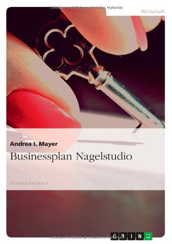Businessplan Nagelstudio
