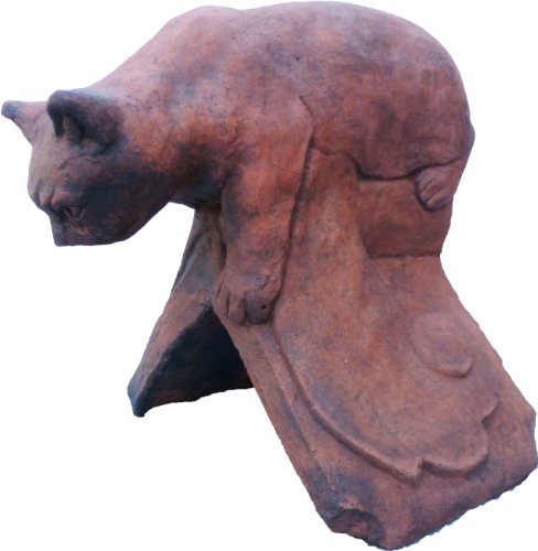cat-roof-finial-angled-ridge-tile-original