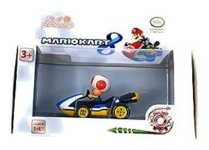 Caja Coche Pull Speed Mario Kart 8 Nintendo Toad
