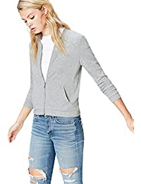 find. Women's Cardigan in Jersey Bomber Style Soft Touch