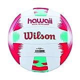Wilson Beach Volleyball, Outdoor, Freizeitspieler, Offizielle Größe, AVP HAWAII, Rot/Blaugrün, WTH482696XB