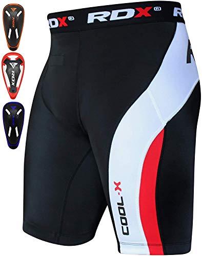RDX Kompressionsshorts Boxershorts Compression Shorts Tiefschutz MMA Base Layer Schale Unterwäsche Funktionsunterwäsche