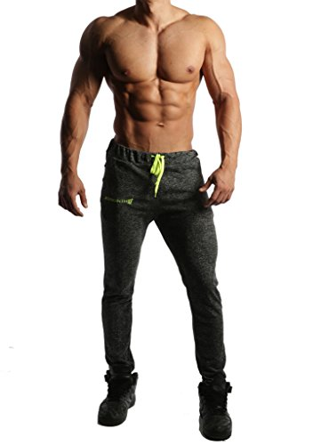 Jed-North-Mens-Joggers-Bodybuilding-Slim-Fit-Tight-Workout-Sweat-Pants