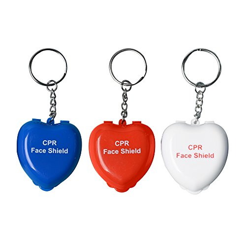 KONMED 50 Stück/pack CPR Face Masks Life Schlüssel Schild für Erste-Hilfe-Training -