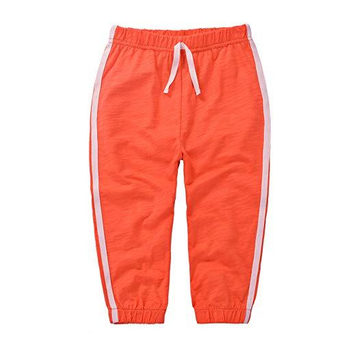 Casa Unisexe Enfants Pantalon Anti Moustique Bambou Coton Pantalon D'été Mince Section Survêtement De Sport Taille Élastique Bas pour 1-6 Ans