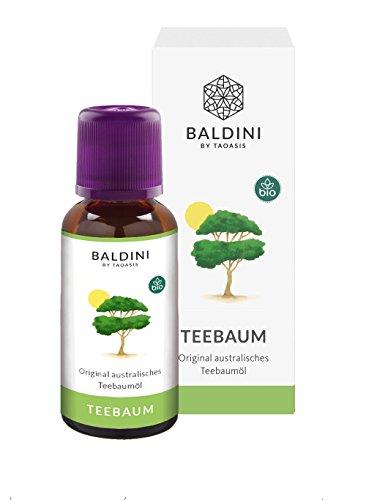 Baldini Teebaumöl BIO, 100% naturreines, ätherisches BIO Teebaum Öl aus Australien 30 ml - in Apothekenqualität