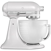 KitchenAid 5KSM156PS - Robot De Cocina Kitchen Aid 5Ksm156 Efp Con Bol De Cristal Translúcido