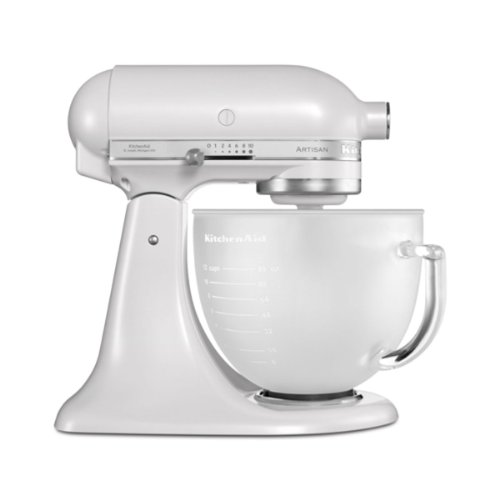 KitchenAid-5KSM156EFP-Robot-Multifonction-300-watts-Blanc