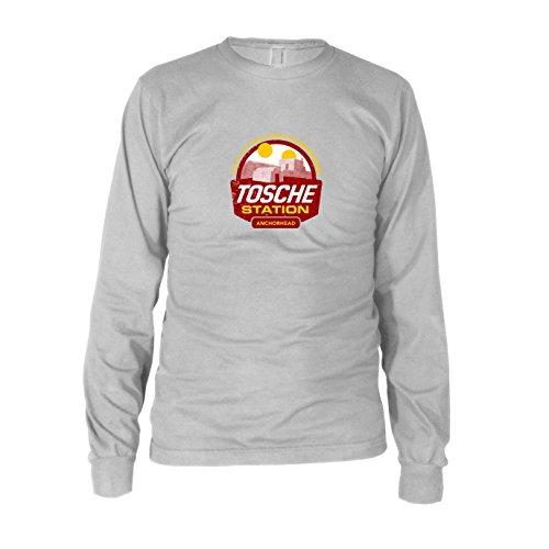 Kostüm Han Endor Solo - Tosche Station - Herren Langarm T-Shirt, Größe: M, Farbe: weiß