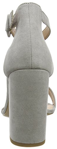 New Look Riches, Sandales Plateforme Femme Grey (Mid Grey 4)