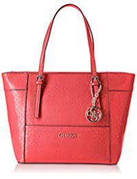 Shoppers y bolsos de hombro para mujer, color Rojo , marca GUESS, modelo Shoppers Y Bolsos De Hombro Para Mujer GUESS HWGE45 35220 Rojo