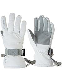 Kids Rocket Ski Glove - White