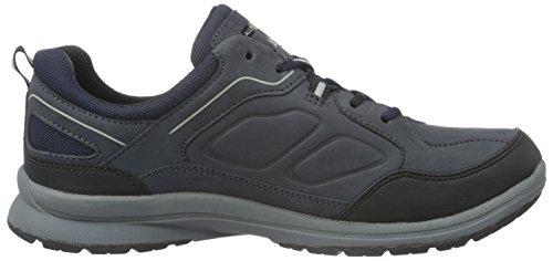 Mephisto Caletto-Tex Rubber 1/Ori 45 Black/Ocean, Baskets Basses Homme Bleu (Black/Ocean)