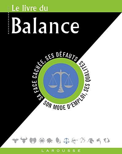 Le livre de la Balance par Collectif