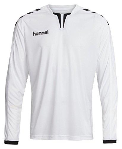 Hummel Herren Trikot Core Long Sleeve Poly Jersey, White, M, 04-615-9001