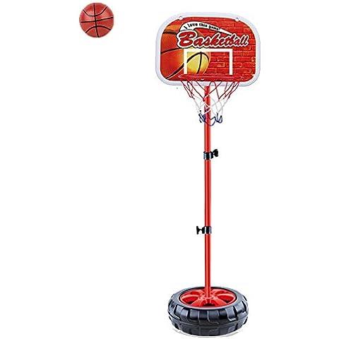 Bambini Mini Basket Regolare Canestro da Basket e Stand Giocattoli Sport per Toddler 3 anni