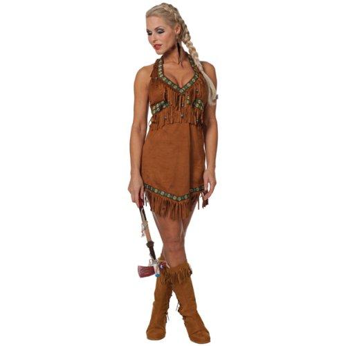 NEU Damen-Kostüm Sexy Indianerin Gr. 38