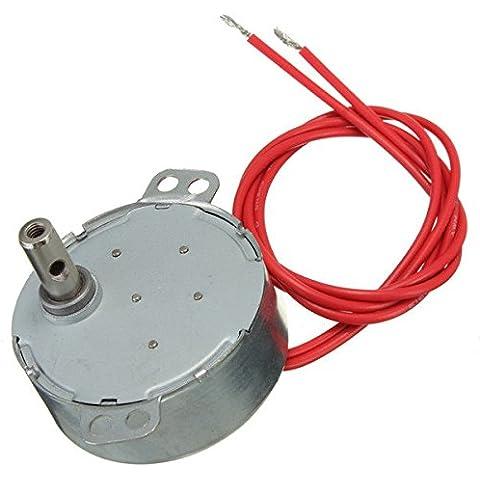 Pink Lizard CA 12V 50 / 60Hz motore sincrono 4w 5 / 6rpm forno a microonde motoriduttore - Forno Pera