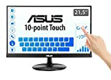 "ASUS VT229H 21.5"" Monitor, FHD, 1920 x 1080, IPS, 10-point Touch Monitor, HDMI, Flicker Free, Filtro Luce Blu, Certificazione TUV"