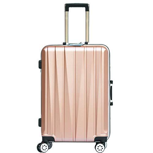 Koffer handgepäck Koffer Gepäck Universal Wheel Trolley Gepäck Boarding Gepäck [20 Zoll Blau] samsonite Koffer (Color : Gold, Size : 20 inch/50x35x26CM)