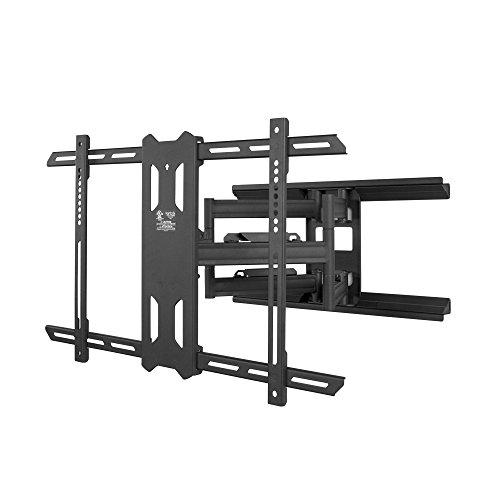 erung / Wandhalterung für 37 - 70 Zoll Flachbildschirm TV, Schwenkbar, Ausziehbar, Neigbar- Überlegene Qualität und Sicherheit - Schwarz ()