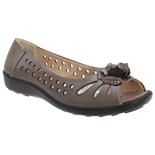 Boulevard - Chaussures d'été - Femme Bleu Marine