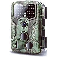 Caméra de Chasse la faune 1080P 16MP 0.2s Trigger Camera de Chasse avec vision nocturne infrarouge jusqu'à 59ft Caméra…