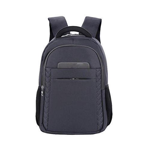 Umhängetasche Wasserdichte Student Tasche Computer Tasche Reisebeutel Rucksack Große Kapazität Paket Grey