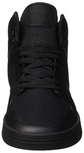 Supra Vaider 2.0, Sneaker Uomo Schwarz (Black-Black)