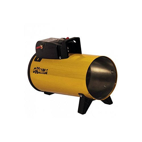 Generatore di aria calda a gas per grandi superfici