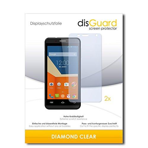 2 x disGuard® Bildschirmschutzfolie Gigabyte GSmart Essence Schutzfolie Folie