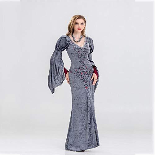 Sexy Damen Kostüm Royal Queen Für Erwachsene - Shisky Halloween kostüm Damen, Halloween-Kostüm Royal Queen Outfit Vampir Dämon Hexenkostüm Kostüm Leistung