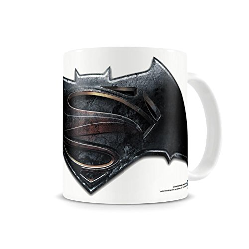 Licenza ufficiale dc comics batman vs superman tazza di caffè con film logo