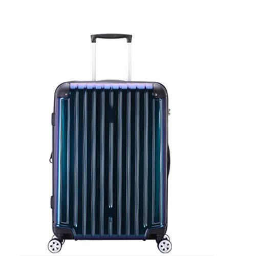 BingWS Leichtes Gepäck, 66 cm, super leicht, ABS-Hartschale, Koffer, Spinner, 360 Grad drehbar, Scrub Handgepäck Koffer, a, 25inches46*27 * 63.5CM