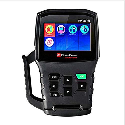 GGPUS Scanner Obd2, Strumento di scansione diagnostica del Servizio Speciale per Auto, Scanner Automatico di codice Clear, Clear Code Auto Scanner, Oil Rest EPB Service