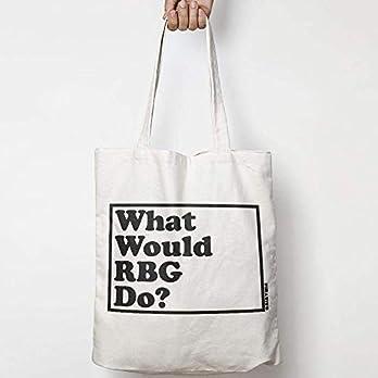 WHAT WOULD RUTH BADER GINSBURG DO? WWYD leinentasche aus natürlicher baumwolle WAHL VON ZWEI FARBEN