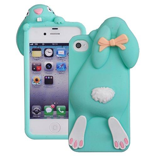 Voguecase® Per Apple iPhone 4 4G 4S, Custodia Silicone Morbido