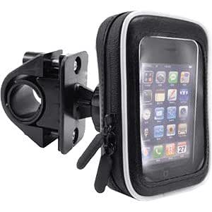 Navitech Cycle / Bike / Bicycle Sports Waterproof holder mount and case for Smart Phones Mobiles & Cell phones Including The Samsung Galaxy Portal , Samsung Galaxy Europa, Galaxy Apollo, Galaxy S, Samsung jet ultra, Wave II, Wave 533, Wave525, Wave, Omnia Pro B7350, Omnia 7, Omnia II, I900, Omnia Pro, Samsung monte.