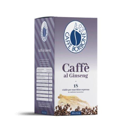 Caffè Borbone - Cafè - Ginseng - 72 Cápsulas Ese 44 mm