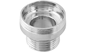 WaterScience Male Aerator Adapter, 28mm, for CLEO SFU-717 Shower & Tap Filter (Chrome)