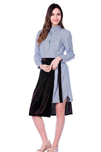 bearsland - Robe spécial grossesse - Femme Bleu