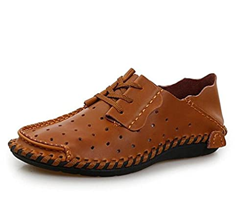 Gentleman's Loafers Comfortable LeatherEasy Match Lace-up Soft Soles Low Top