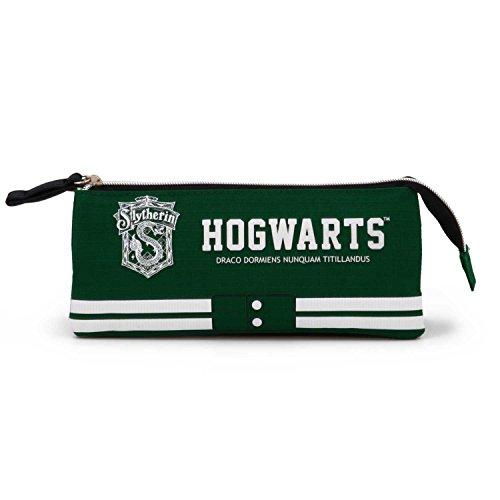 Karactermania Harry Potter Slytherin-Triple HS Pencil Case Astuccio, 24 cm, Verde (Green)