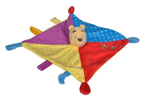 Simba 6315876549 Disney Winnie The Puuh 3D Schmusetuch, Color