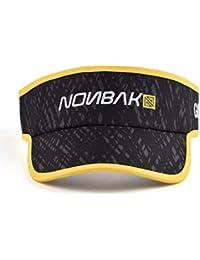 Nonbak Visera Camo sunvisor Running Outdoor Talla única Varios Colores  (Negra-Ribetes Amarillos) 2ae8b9ecd68