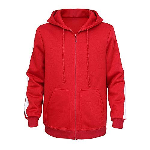 Dream Team Kostüm - Vokaer Rote Jacke Hoodie Plus samt