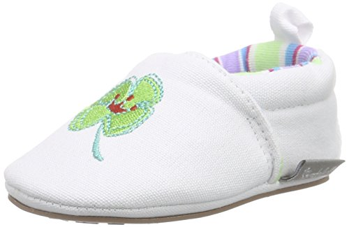 Sterntaler Baby Mädchen Krabbelschuhe Weiß (weiß 500)