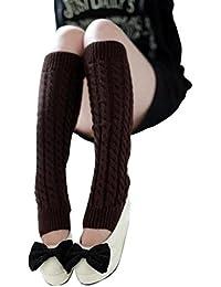Internet Femmes Tricoté Crochet Guêtres Chaud Longue Bottes Tube Chaussettes Automne-hiver 2016