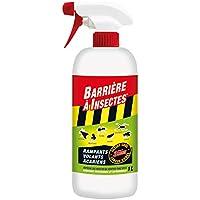 BARRIERE A INSECTES Vaporisateur contre les Insectes Rampants, Volants, Acariens, Prêt à l'emploi, 1 L, BARSEC1000N