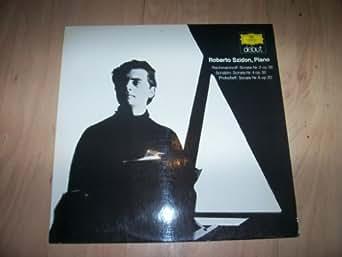 642 104 ROBERTO SZIDON Rachmaninoff/Scriabin/Prokofieff